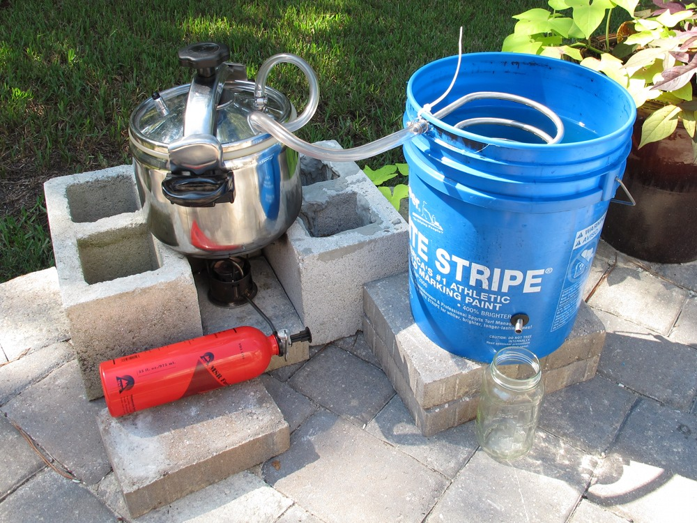 Camping Water Distiller ~ How to build a water distiller construction and diy